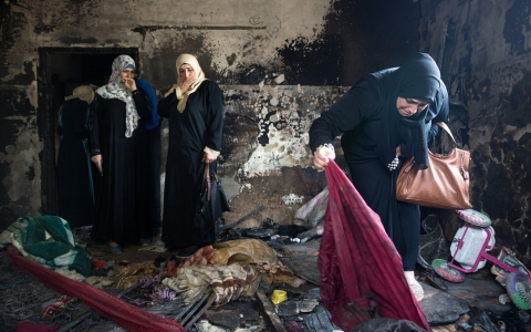 Palestinian family killed by arson