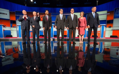 Thumbnail image for Second-tier candidates fight for relevancy at undercard GOP debate