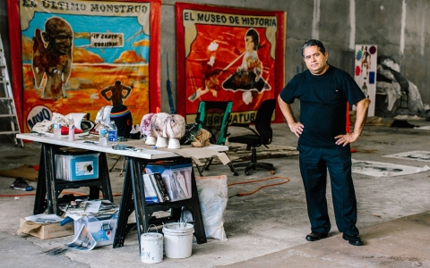 Thumbnail image for Viva la resistencia: Artists vow to stay in Puerto Rico despite crisis