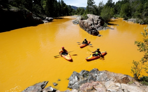 Thumbnail image for Million gallon wastewater spill shuts down Colorado river