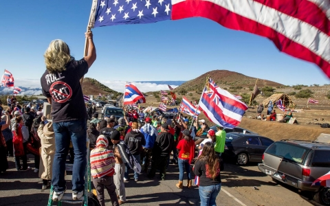 Thumbnail image for Protests over giant telescope put concerns of Native Hawaiians into focus
