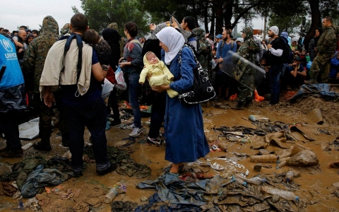 Thumbnail image for The refugee mothers who risk it all to take their babies to safety