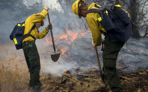 Thumbnail image for California governor warns of more wildfires