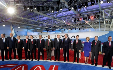 Thumbnail image for GOP candidates debate foreign affairs, immigration and gay marriage