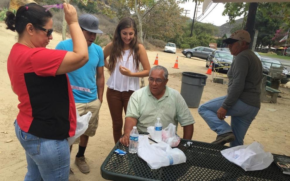 day laborers Laguna Beach