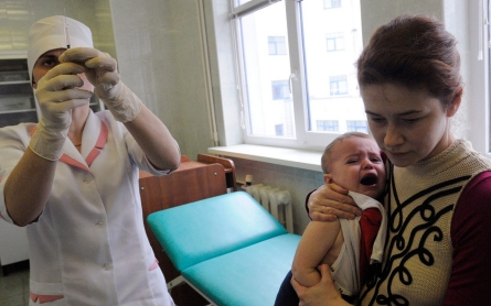 WHO: Polio outbreak in Ukraine due to low immunization rates