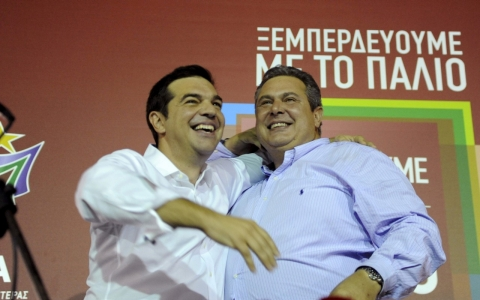 Thumbnail image for Syriza wins Greece elections, as Tsipras defeats anti-austerity rebellion