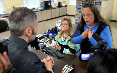 Gay couples in Kentucky question validity of marriage licenses
