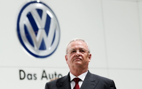Thumbnail image for Volkswagen's chief executive resigns over emissions scandal