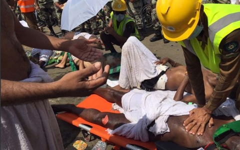 Thumbnail image for More than 450 dead in Hajj stampede, Saudi Arabia authorities say