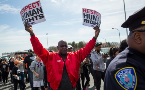 Thumbnail image for US accepts UN advice on police violence, racism; advocates call for action
