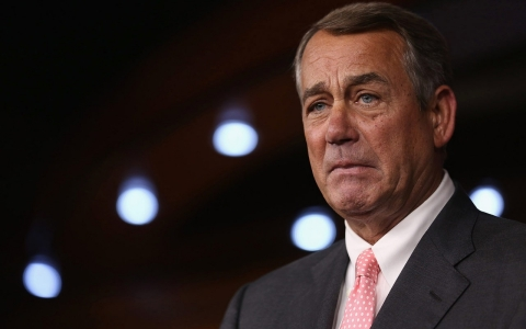 Thumbnail image for Plagued by GOP divisions, Speaker John Boehner resigns from Congress
