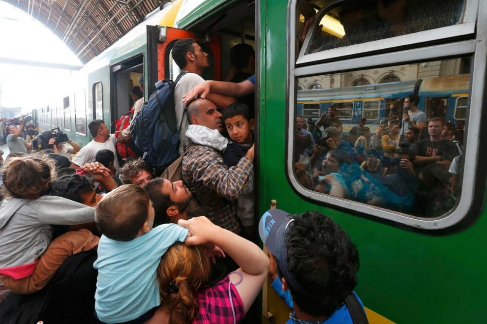 Image result for refugees train