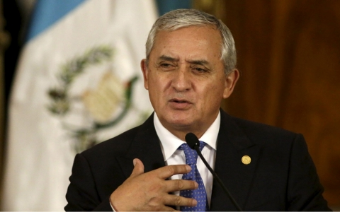 Thumbnail image for Guatemala's president resigns in face of fraud scandal