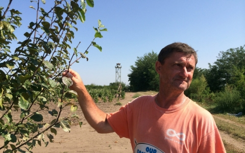 Karoly Bajtai is a farmer in the village of Horgos near Serbia's border with Hungary.
