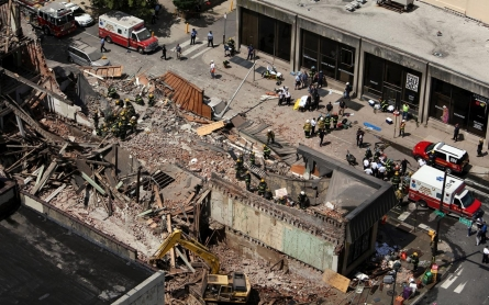 Contractor goes on trial for building collapse deaths