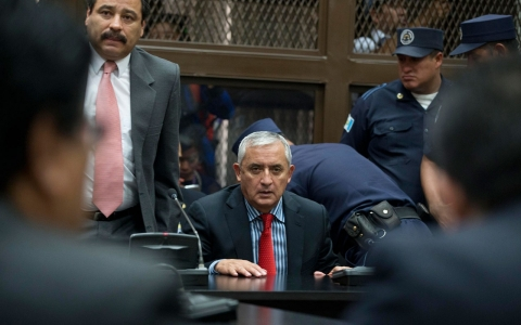 Thumbnail image for Guatemala ex-president claims innocence in fraud scandal