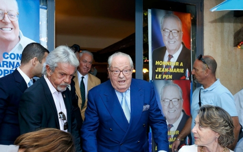 Thumbnail image for Jean-Marie Le Pen creates new political party in France