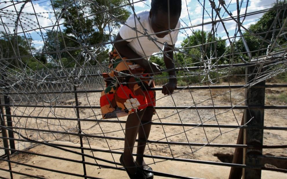 Zimbabwe fence