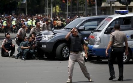 Blasts and gunfire rock Jakarta, Indonesia's capital