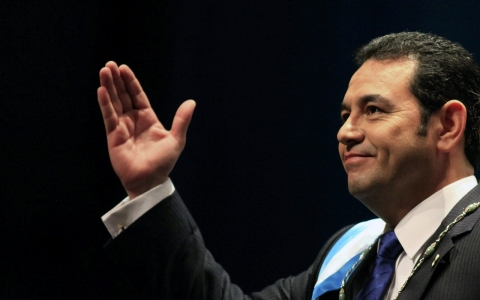 Thumbnail image for Guatemala's new leader promises 'drastic' anti-graft action