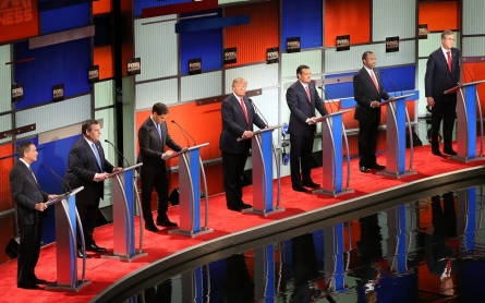Republican debate turns inside out