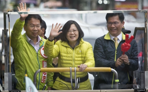 Thumbnail image for Pro-independence candidate wins Taiwan presidential election
