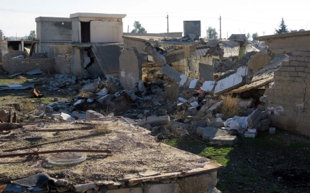 Kurdish forces deliberately destroy Arab villages, Amnesty says