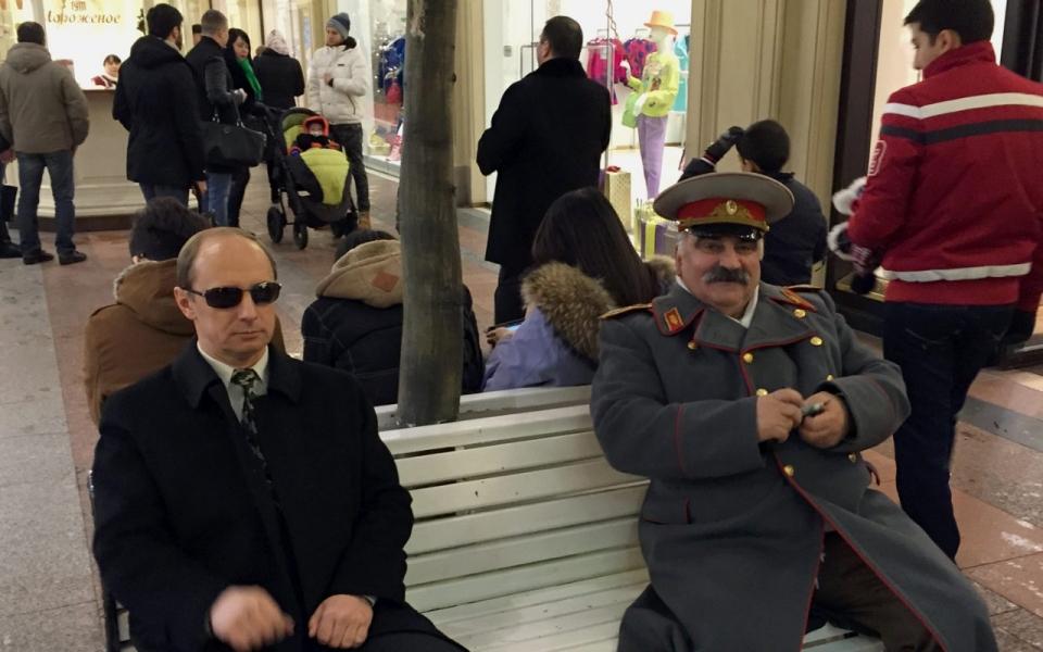 Putin, Stalin