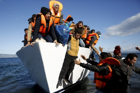 Thumbnail image for Greece threatened with expulsion from EU travel zone over refugee crisis