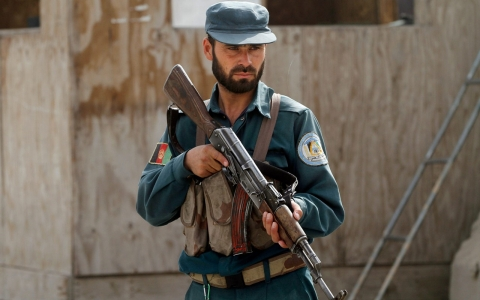 Thumbnail image for Taliban infiltrator drugs, kills 10, Afghan police officials say