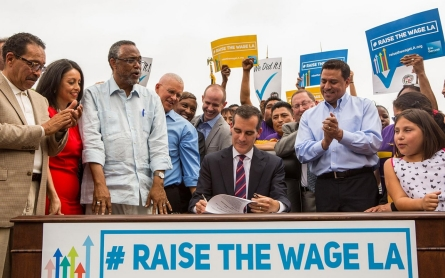 Minimum wage rises in 14 states and several cities