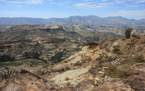 The northern Ethiopia highlands of Tigray has long struggled with unreliable rainy seasons.