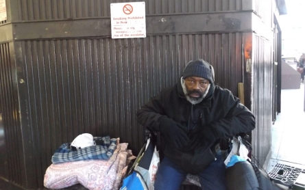 New York to order homeless off streets in freezing weather
