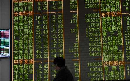 China halts trading as stocks plunge