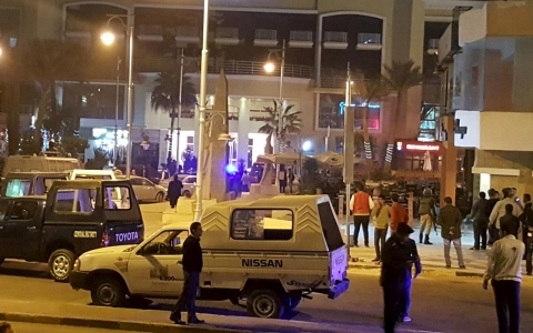 Thumbnail image for Three foreign tourists wounded in attack on Egypt hotel
