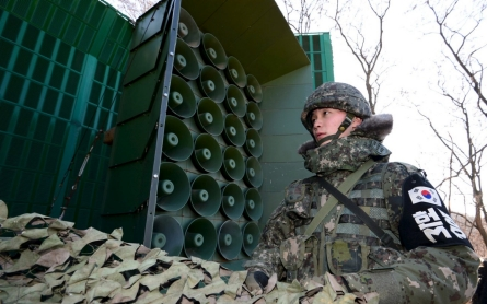 South Korea launches propaganda barrage at North