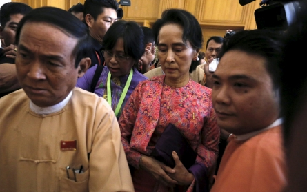 Myanmar parliament begins new session dominated by Suu Kyi's party