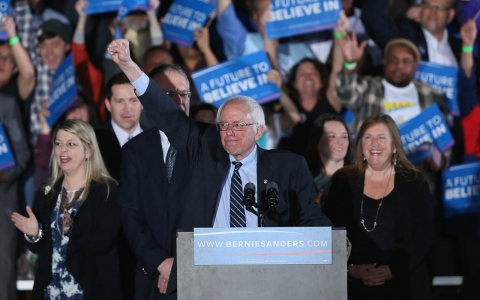 Thumbnail image for After New Hampshire victory, Sanders still has an uphill climb