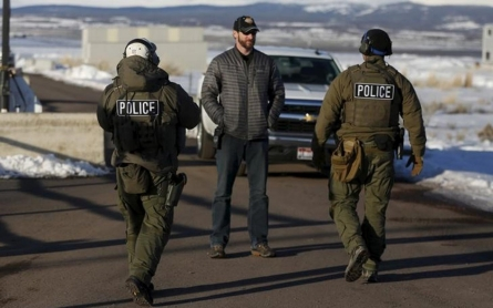 Last occupiers of Oregon wildlife refuge surrender to FBI