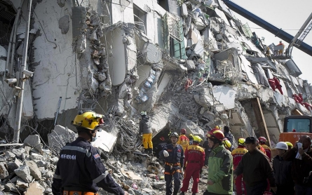 Death toll from collapsed building in Taiwan quake reaches 114
