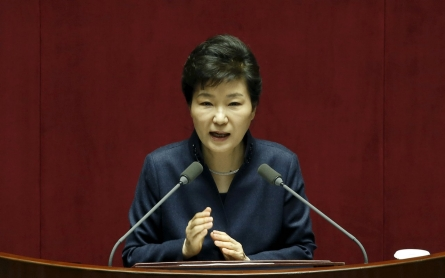 S. Korea president takes tough stand on N. Korea