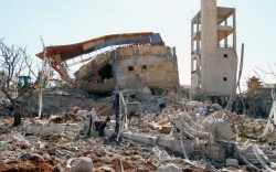 Deadly strikes on Syrian schools, hospitals denounced as 'war crime'