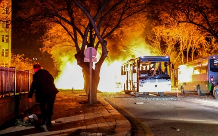 Turkey's capital, Ankara, rocked by deadly<br>car bombing
