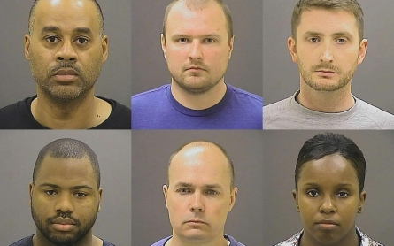 Appeals court delays officer trials in Freddie Gray case