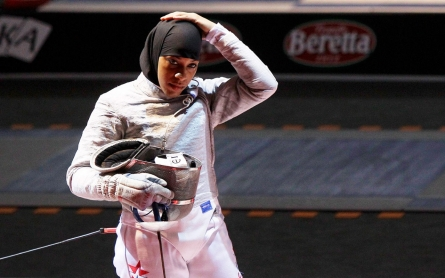 Fencer to become first US Olympian to compete in hijab