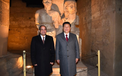 Xi and Sisi