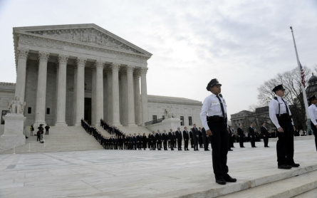 Scalia memorial service draws thousands