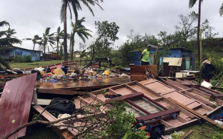 Fiji hit by record-breaking cyclone