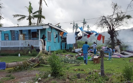 Ocean heat fueled Fiji's Cyclone Winston, meteorologists say